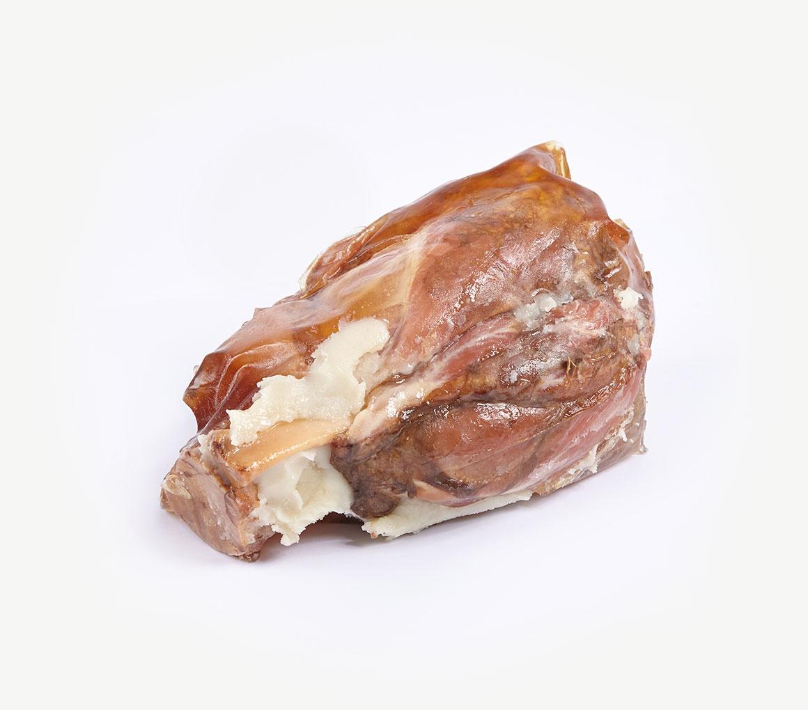 Jarret de porc pré cuit minimum 500 g