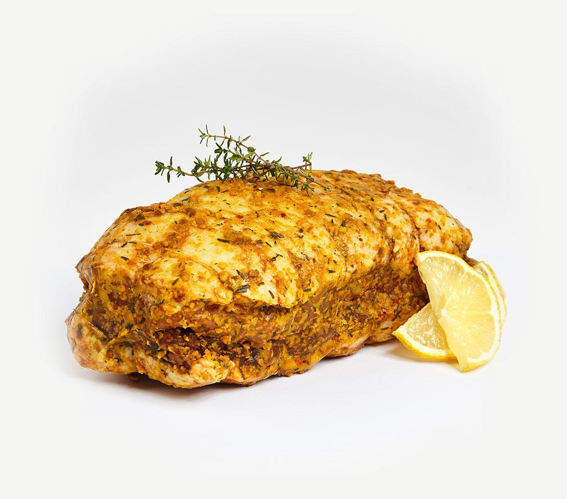 Rôti de magret de canard thym et citron 800 g
