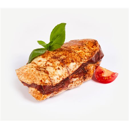 Rôti de magret de canard tomate basilic minimum 800 g