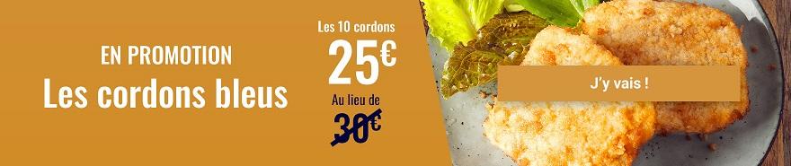 Promotion filets de poulet